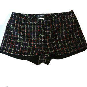 Chanel Tweed Silk Shorts size  S 4